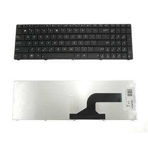 Qoltec Klávesnica pre notebook Asus K73 X53 Black