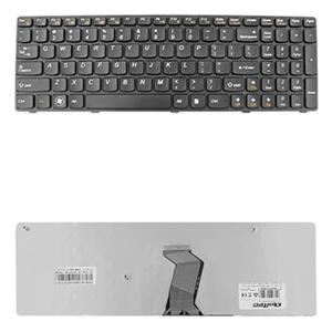 Qoltec Klávesnica pre notebook IBM/Lenovo B570 B575 Z570