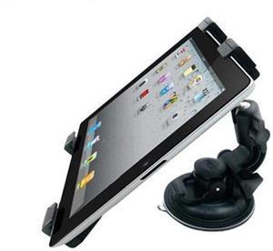 Qoltec nastaviteľný držiak do auta na sklo/opierku hlavy pre tablet 7-10.1''