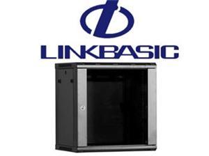 """Rack skriňa Linkbasic, 19"""", 12U/450mm - čierna"""