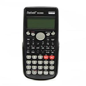 Rebell RE-SC2060 BX, kalkulačka, čierna, vedecká, bodový displej