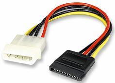 Redukcia napájania typ MOLEX/SATA pre HDD Serial ATA