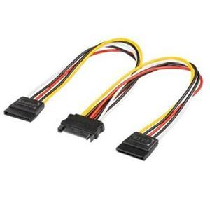 Redukcia predlžovačka, rozdvojka typ 16cm SATA/SATA pre HDD Serial ATA