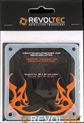 Revoltec Vibration Case-Fan 80x80mm