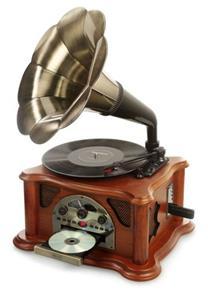 Ricatech RMC350 Horn Turntable, gramofón