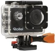 Rollei ActionCam 350 - 4K video 10 fps/ 1080/30 fps/ 140°/ 40m pzd./ Wi-Fi/ Čierna
