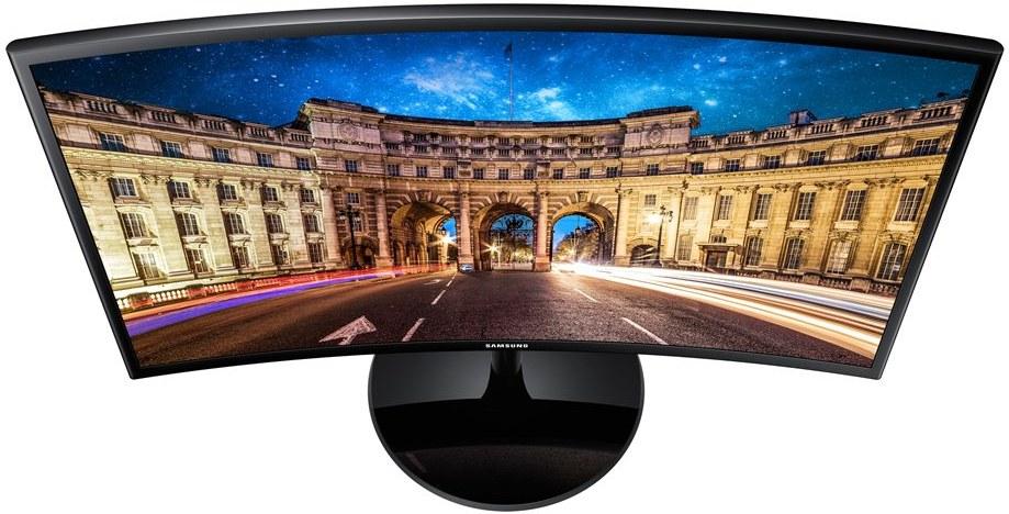"""Samsung C24F390F, 24"""", zakrivený, Full HD"""