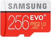 Samsung EVO Plus microSDXC 256GB + adapter