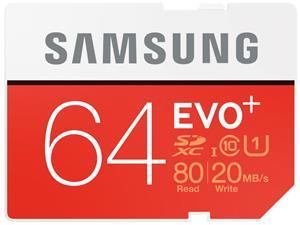Samsung EVO Plus SDXC 64GB UHS-I class 10