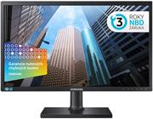 """Samsung S24E45KBSV 24"""" business LCD, pivot"""