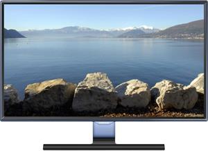 """Samsung T24E390, 24"""", Full HD, TV tuner, čierna"""