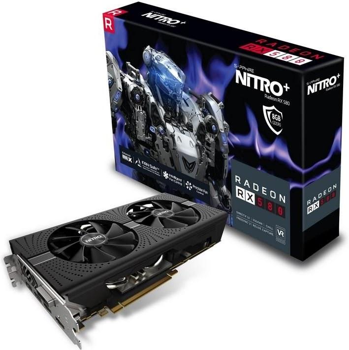 SAPPHIRE NITRO+ Radeon™ RX 580 8GD5