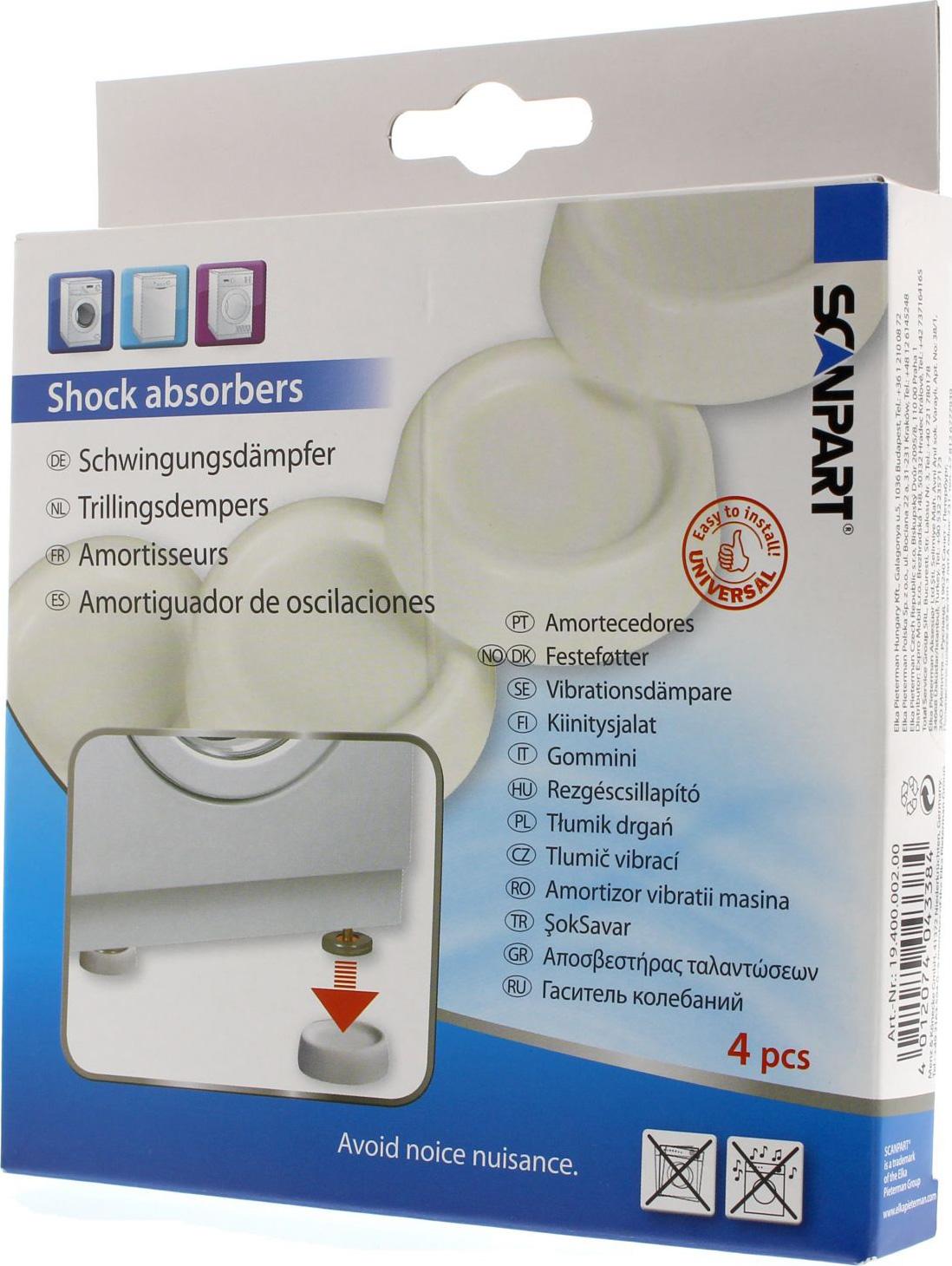 ScanPart Antivibračné podložky pod práčku