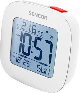 SENCOR SDC 1200 W, hodiny s budíkom