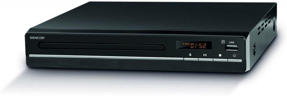 SENCOR SDV 2512H, DVD prehrávač