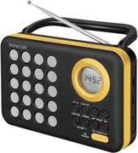 Sencor SRD 220 BYL, rádio s USB/MP3