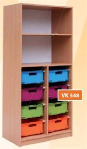 Skriňa s 8 VPL zásuvkami