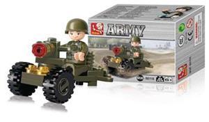 Sluban M38-B0118 - Army Series - Soldier