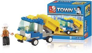 Sluban M38-B0178 - Town Series - Dump Truck