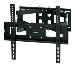 Solight stredný dvojramenný konzolový držiak pre ploché TV od 66 - 140cm (26'' - 55''), odstup 105-515mm od steny