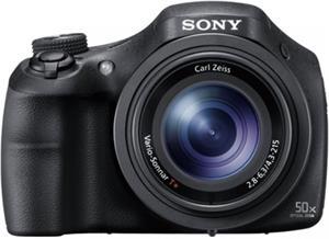 """SONY DSC-HX350 20,4 MP, 50x zoom, 3"""" LCD, čierny"""