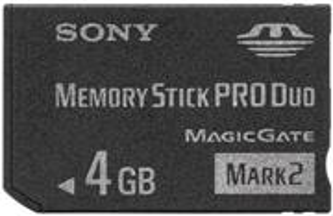 Sony Memory Stick 4GB