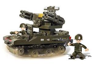 Stavebnica Sluban Tank TOR-M1, 212 dielov (M38-B0283)