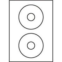 Štítky CD05 118/36 univerzálne biele, 1 kus