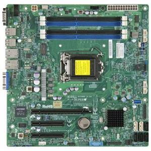 SUPERMICRO MB 1xLGA1150, iC222,DDR3,2xSATA3,4xSATA2,(2x PCI-E3.0 x8,1x PCI-E2.0 x4), IPMI (Bulk)