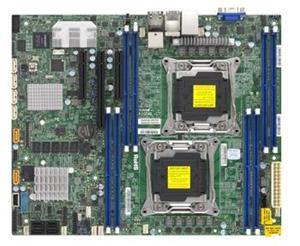 SUPERMICRO MB 2xLGA2011-3, iC612 8x DDR4 ECC,6xSATA3,8xSAS3 3108 HW,(PCI-E 3.0/1,2(x16,x8),2x LAN,IPMI
