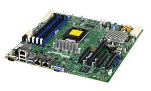 Supermicro MBD-X11SSM-F, 1xLGA1151, DDR4, MATX