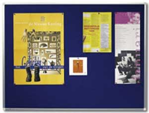 Tabuľa napichovacia PREMIUM 100x150 cm modrá