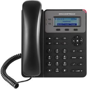 Telefón Grandstream GXP1625 VoIP telefon - 2x SIP účet, HD audio, 3 program.tlačítka, switch 2xLAN 10/100Mbps, PoE