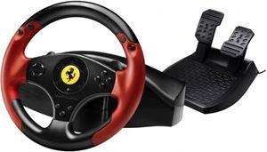 Thrustmaster Ferrari Racing Wheel Red Legend, sada volanta a pedálov pre PC a PS3