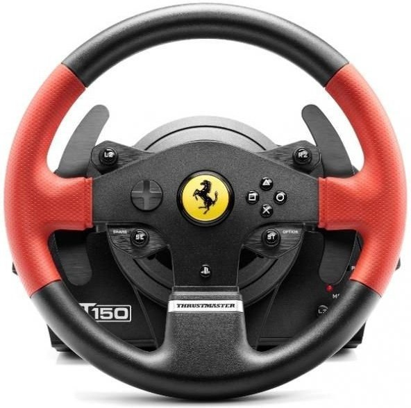thrustmaster t150 ferrari set volant a ped le pre ps4 ps3 a pc 4160630 akcia. Black Bedroom Furniture Sets. Home Design Ideas