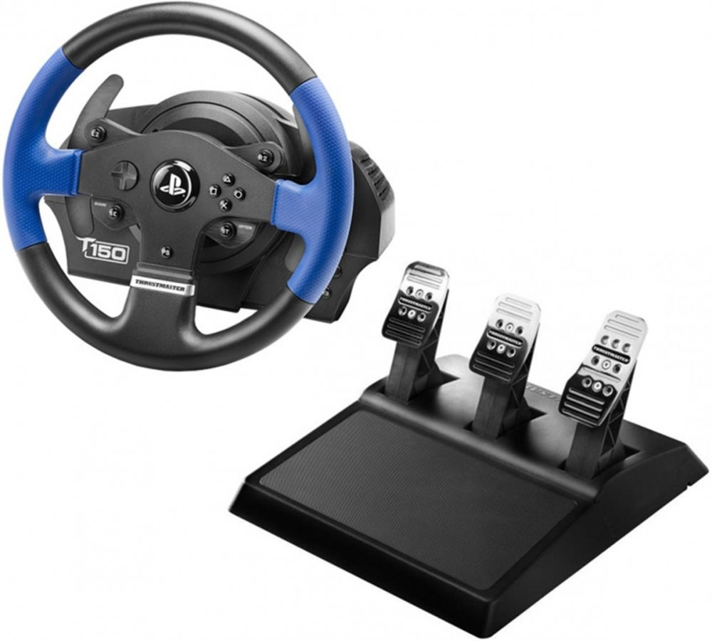 thrustmaster volant a ped le t150 rs pro pre pc ps3 ps4 4160696. Black Bedroom Furniture Sets. Home Design Ideas