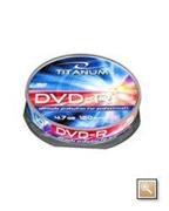 Titanum DVD-R 10 pack 8x/4.7GB