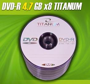 Titanum DVD-R 100 pack 8x/4.7GB