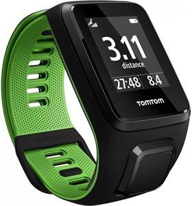TomTom Runner 3, smartwatch, čierno-zelené