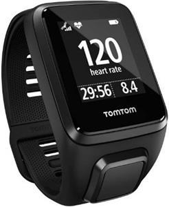 TomTom Spark 3 Cardio, smartwatch, čierne