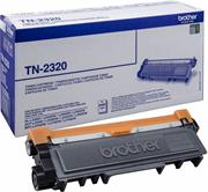 toner Brother TN-2320, black, 2600 strán