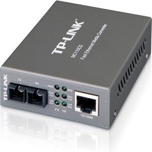TP-Link MC110CS, prevodník, 1x10/100M RJ45/1 x singl-mode