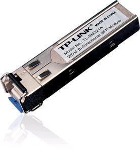 TP-Link TL-SM321A, 1000Base-BX WDM Bi-Directional SFP Module, LC connector, TX:1550nm/RX:1310nm, single-mode, 10km