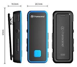 Transcend MP3 prehrávač TS8GMP350B 8GB
