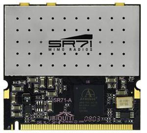 Ubiquiti SR71-A miniPCI,250mW,802.11a/b/g/n, 2,4+5GHz