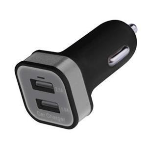 USB adaptér do auta 2.1A, 2xUSB