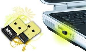 USB Bluetooth Trust Ultra Small Bluetooth 2.1, 25m