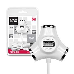 USB HUB Axago Trinity 4-portový