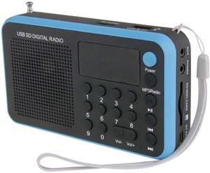 USB rádio EMGO 1505W modré
