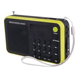 USB rádio EMGO 1505W žlté